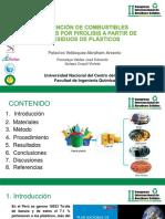 Abraham Palacios v. - Obtencıón de Combustıbles Líquıdos Por Pırolısıs a Partır de Resıduos de Plástıcos
