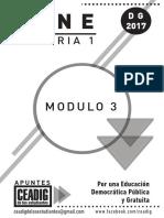 Gene 1, 2017 Modulo 3 2do Cuatr Digital