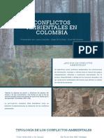 Conflictos Ambientales ELECTIVA I