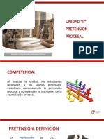 DPCI - Semana 05 - Pretensión Procesal.pptx