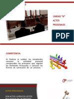 DPCI - Semana 07 - Actos Procesales.pptx