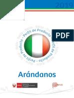 italia exportacion arandanos