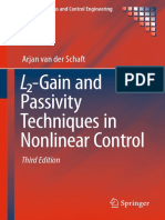 (Communications and Control Engineering) Arjan Van Der Schaft (Auth.) - L2-Gain and Passivity Techniques in Nonlinear Control-Springer International Publishing (2017)