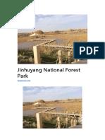 Jinhuyang National Forest Park