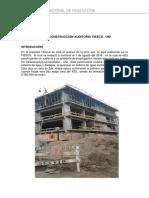 Avance de Obra Procedimientos de La Construccion - Copia
