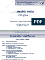 Sustainable Toilet Design HCG-UAP