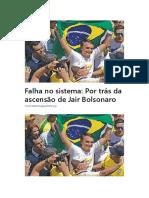 Por Trás Da Ascensão de Jair Bolsonaro
