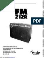 Fender 212R amp manual