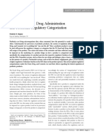 46. the US FDA and Probiotics Regulatory Categorization