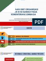 Bahan Deputi Balaks Sl Pengalihan Eselon III Ke Bawah_051119