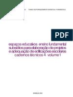Manual MEC para projeto de escolas