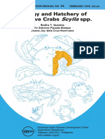 AEM 34 Biology and Hatchery of Mangrove Crab 3rd Ed Cover to Intro