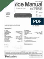Technics SLPG 390 Service Manual