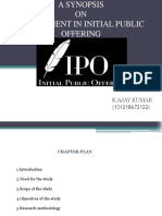 A SYNOPSIS OF IPO.a