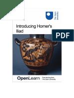 Introducing Homer's Iliad