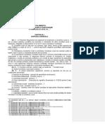 Model orientativ al Regulamentului de organizare și funcționare a autorității deliberative