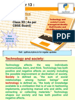 Technology and Society E Waste Managment Identity Theft Gender and Disabili