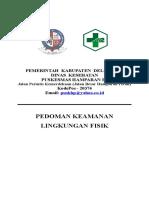 8.5.3.1 Panduan Keamanan Lingkungan Fisik Puskesmas Hamparan Perak