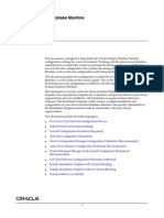 Configuration Worksheet