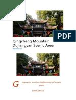 Qingcheng Mountain Dujiangyan Scenic Area