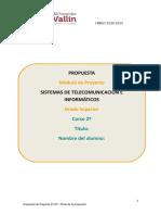 Modelo de Propuesta Electronica Ies Fernandez-Vallin Sti2