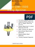 Kelly-spinner OWI 1500