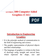 15MEC100 Computer Aided Graphics (CAG)