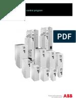 ACS580 drives standard control program
