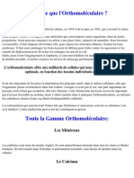 Guide Orthomoleculaire