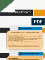 Integrasi PDDIKTI