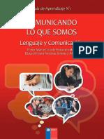 Guía Nº 1 Lenguaje y Comunicación Comunicando Lo Que Somos