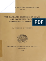 The Barbaric Tremissis in Spain and Southern France Anastasius