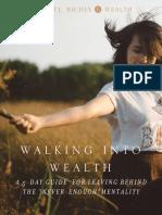 Walking Into Wealth Devotional