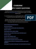 Starborne FAQs
