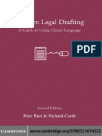 Model Legal Drafting