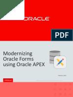 Apex Forms Migration