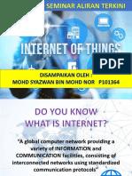 IOT Presentation Mohd Syazwan