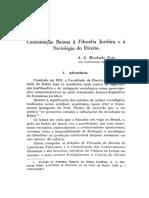 A. L. Machado Neto - Contribuição Baiana à Filosofia Jurídica e à Sociologia Do Direito