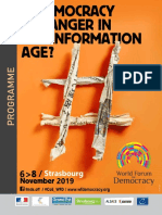 WFD 2019 Programme