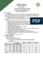 Accomplishment Report Apr-jun '18