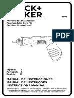 B&D 9078_manual
