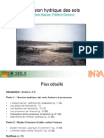 Diaporama Inra Erosion Hydrique