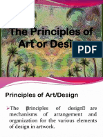 The Principles of Art or Design