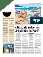 Avanza La Reducción Del Plástico en El Perú