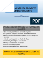 Proyecto Emprendimiento