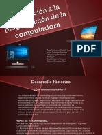 Introducción a La Programación de La Computadora