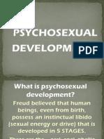 Psychosexual Development by Freud Jlc