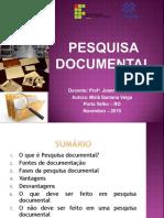 PESQUISADOCUEMNTAL.pptx