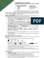 Instruction Sheet _UG_ Jun 2009