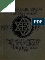 Jerusalem, 1920-1922, being the records of the Pro-Jerusalem Council